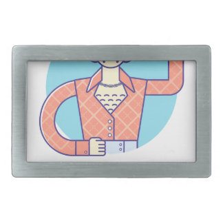 Eleventh February - Satisfied Staying Single Day Belt Buckles