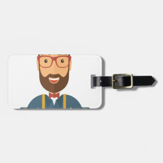 Eleventh February - Satisfied Staying Single Day Luggage Tag