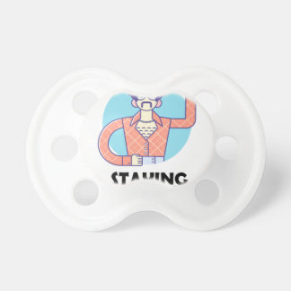 Eleventh February - Satisfied Staying Single Day Pacifier