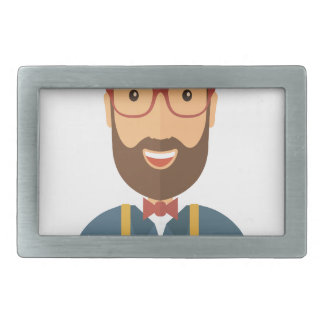 Eleventh February - Satisfied Staying Single Day Rectangular Belt Buckles