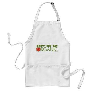 Élevez, achetez, mangez organique tabliers
