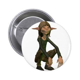Elf 2 Inch Round Button