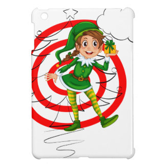 Elf and christmas case for the iPad mini