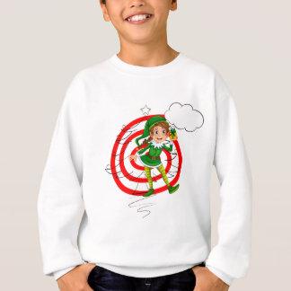 Elf and christmas sweatshirt