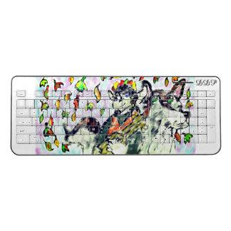 elf and wolf three wireless keyboard