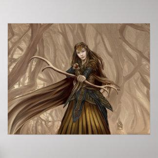 Elf Archer Poster