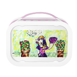 elf art 3 lunch box