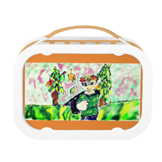Elf art two lunch box