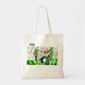 Elf art two tote bag