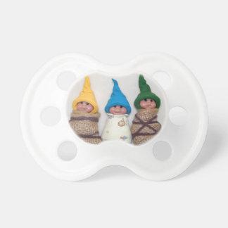 Elf Babies: Polymer Clay: Sculptures Pacifier