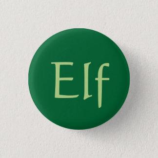 Elf badge 1 inch round button