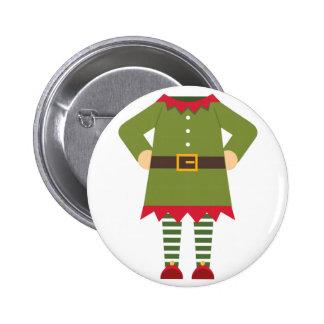 Elf Body 2 Inch Round Button