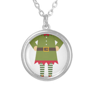 Elf Body Silver Plated Necklace