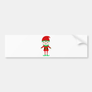 Elf Bumper Sticker