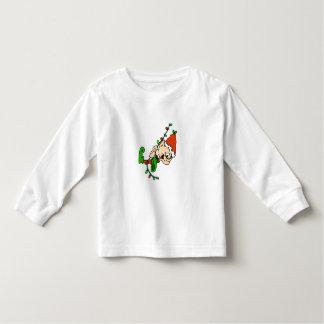 Elf Christmas Toddler Long Sleave Shirt
