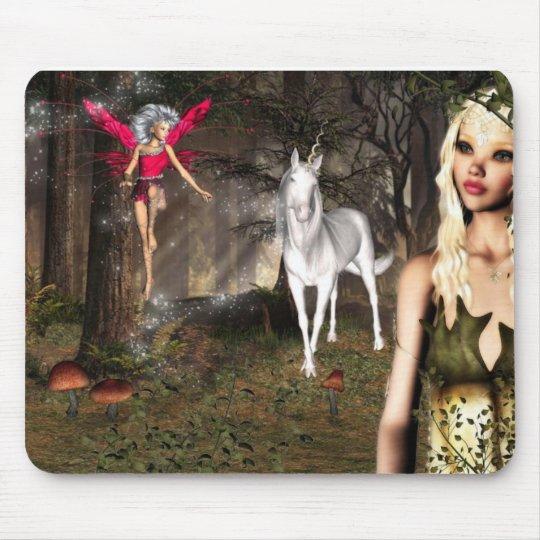 Elf fantasy mouse pad