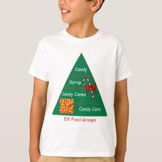 Elf Food Groups T-Shirt