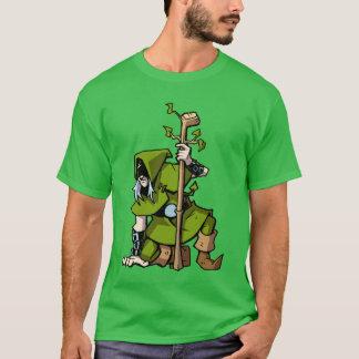 Elf golfer t-shirt