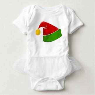 Elf Hat Baby Bodysuit