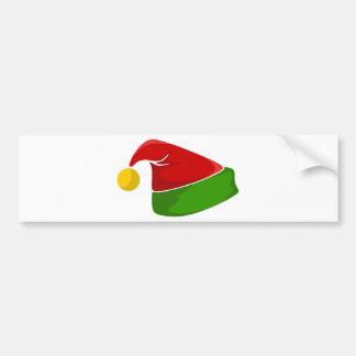 Elf Hat Bumper Sticker