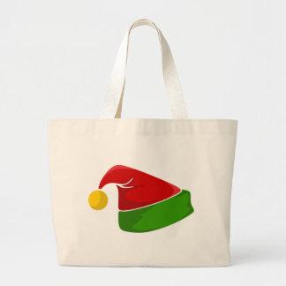 Elf Hat Large Tote Bag