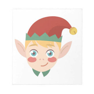 Elf Head Notepad