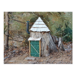 Elf House Postcard