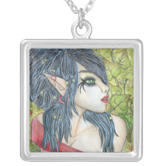 Elf in Ivy Necklace