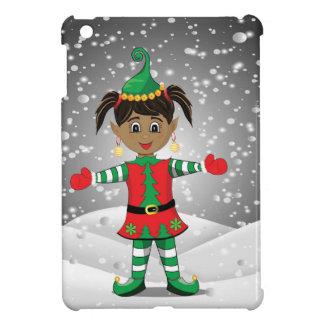 Elf in snow iPad mini covers
