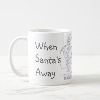 Elf Karaoke Coffee Mug
