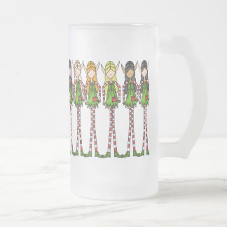 Elf magic Christmas Frosted Mug
