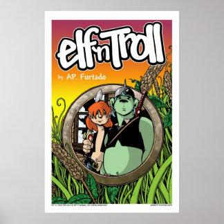 ELF `n TROLL Poster
