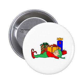 Elf Naps 2 Inch Round Button
