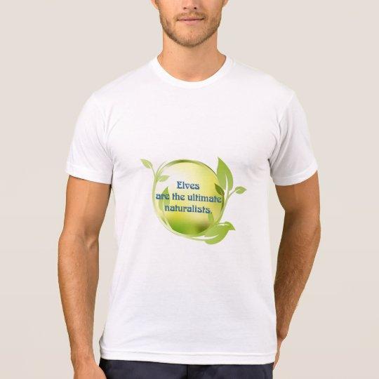 Elf Naturalist Green Leaves T-Shirt