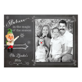 Elf on Shelf  | Holiday Photo Card