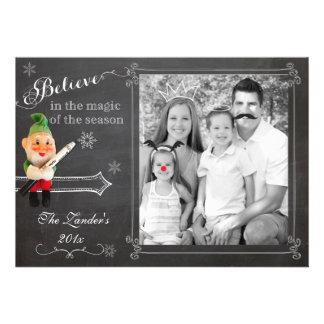 Elf on Shelf Holiday Photo Card