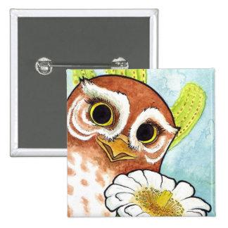 Elf Owl Button