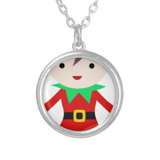 Elf Silver Plated Necklace