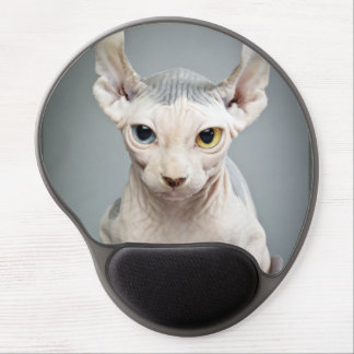 Elf Sphinx Cat Photograph Gel Mouse Pad