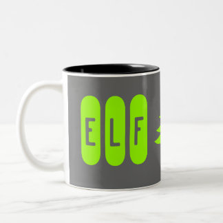 elf Two-Tone coffee mug
