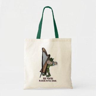 Elf Waves - HARP Tote Bag