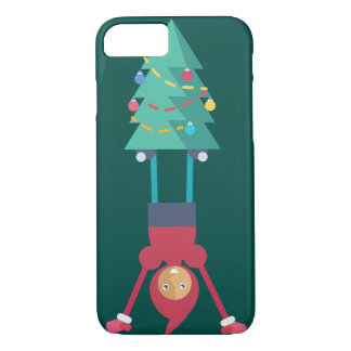 Elf with pine tree iPhone 7 case