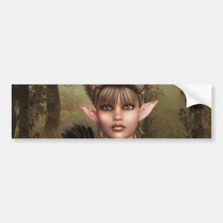 Elf Woods Bumper Stickers
