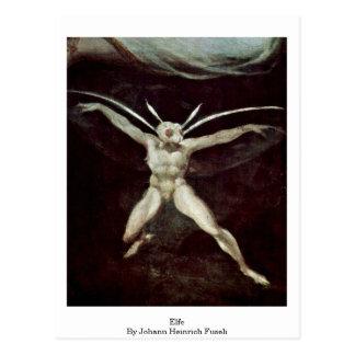 Elfe By Johann Heinrich Fuseli Postcard