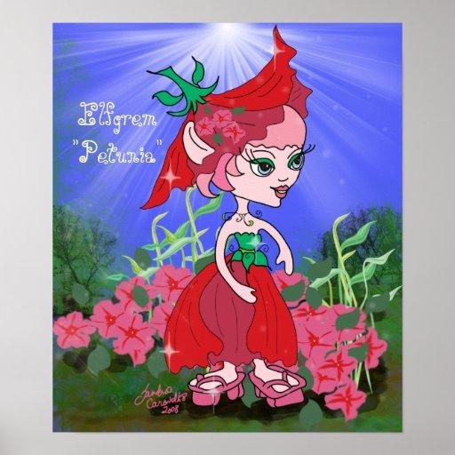 "Elfgrem ""Petunia"" Poster"