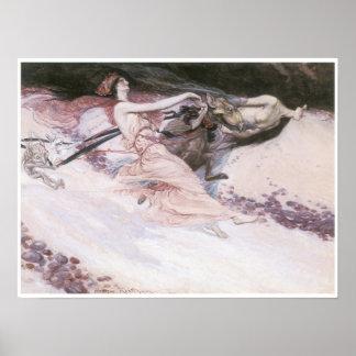 Elfin Revellers, 1900 Print