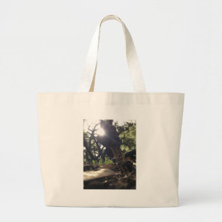 Elfin Saddle Mushroom Large Tote Bag