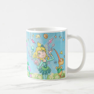 Elfleda-Fae and Kiwi-Sprite juggle and bubble MUG