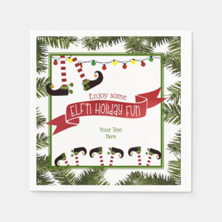 ELF'n Holiday Fun Paper Napkins