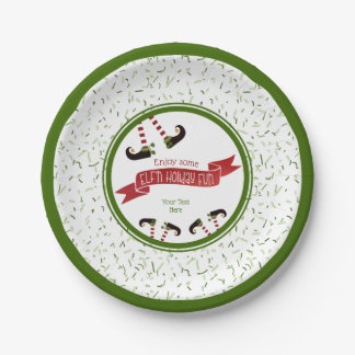 ELF'n Holiday Fun, Party Paper Plate